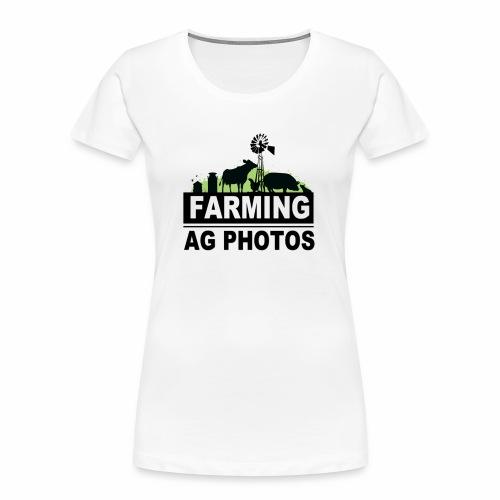 Farming Ag Photos - Women's Premium Organic T-Shirt