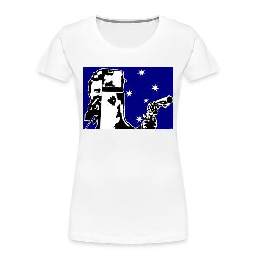 NED KELLY - Women's Premium Organic T-Shirt