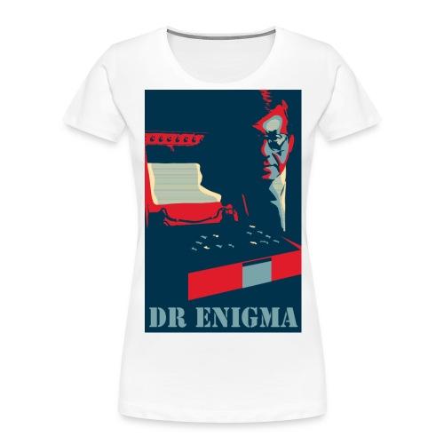 Dr Enigma+Enigma Machine - Women's Premium Organic T-Shirt