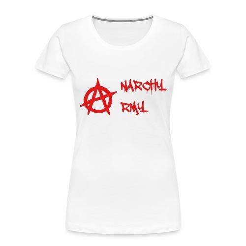 Anarchy Army LOGO - Women's Premium Organic T-Shirt