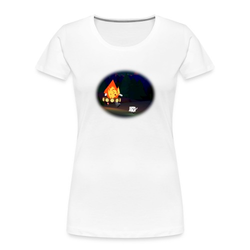 'Round the Campfire - Women's Premium Organic T-Shirt