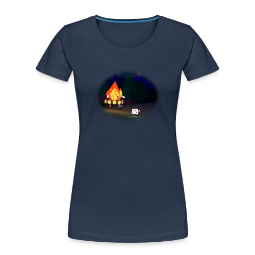 'Round the Campfire - Women's Premium Organic T-Shirt