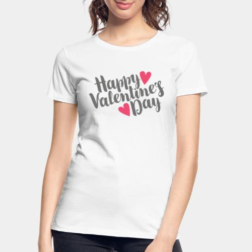 valentine day love - Women's Premium Organic T-Shirt