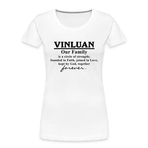 Vinluan Family 01 - Women's Premium Organic T-Shirt