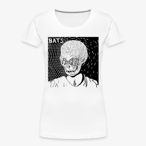 BATS TRUTHLESS DESIGN BY HAMZART - Women's Premium Organic T-Shirt