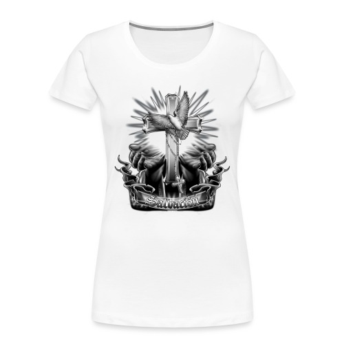 Salvacion by RollinLow - Women's Premium Organic T-Shirt