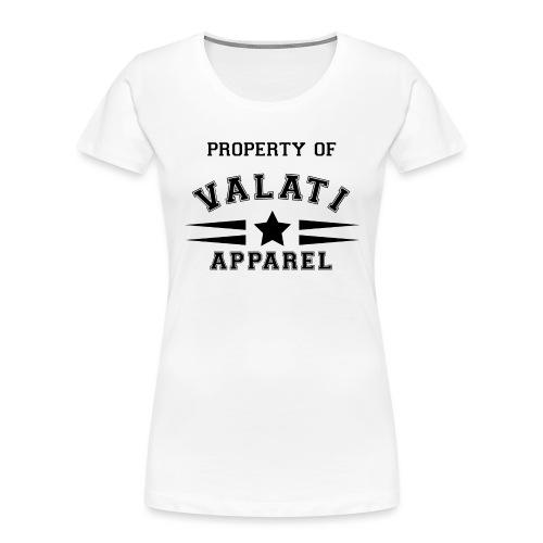 Property Of - Women's Premium Organic T-Shirt