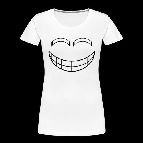 Empty Grin - Women's Premium Organic T-Shirt