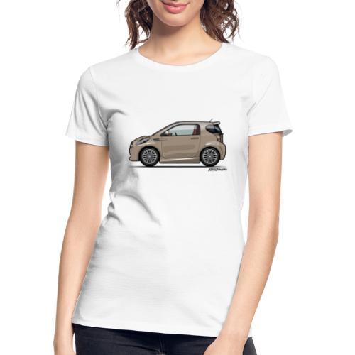 AM Cygnet Blonde Metallic Micro Car - Women's Premium Organic T-Shirt