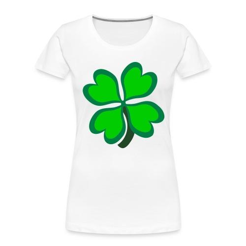 4 leaf clover - Women's Premium Organic T-Shirt