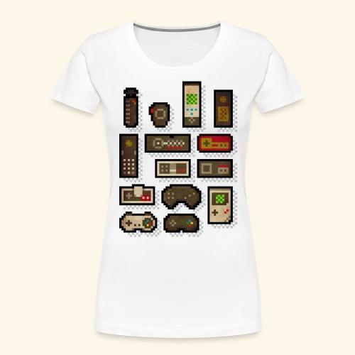 pixelcontrol - Women's Premium Organic T-Shirt