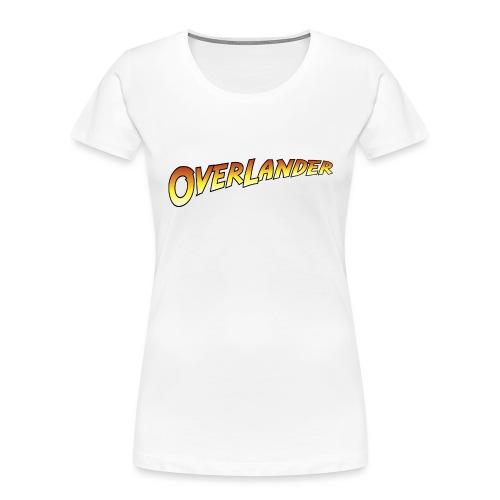 Overlander - Autonaut.com - Women's Premium Organic T-Shirt
