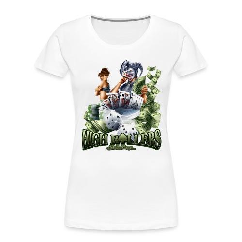 High Roller by RollinLow - Women's Premium Organic T-Shirt