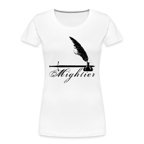 mightier - Women's Premium Organic T-Shirt