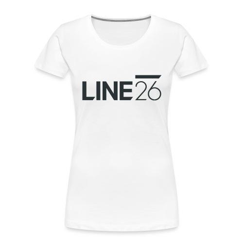 Line26 Logo (Dark Version) - Women's Premium Organic T-Shirt