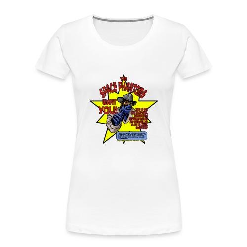 Space Phantom - Women's Premium Organic T-Shirt