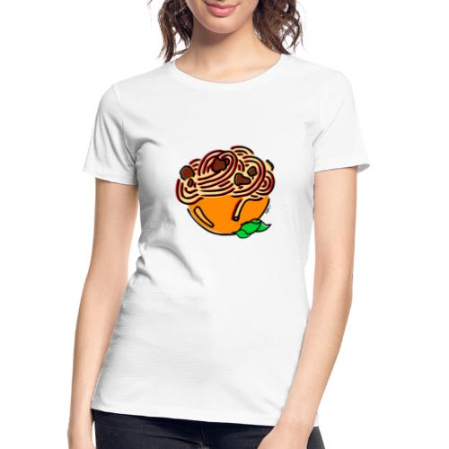 Bolognese Spaghetti - Women's Premium Organic T-Shirt