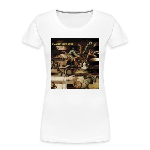 Mantis and the Prayer- Butterflies and Demons - Women's Premium Organic T-Shirt