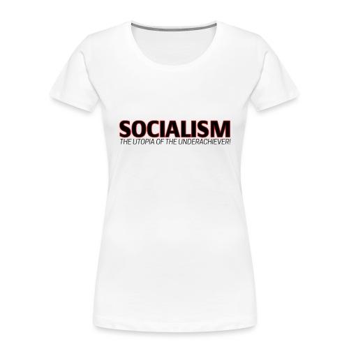 SOCIALISM UTOPIA - Women's Premium Organic T-Shirt