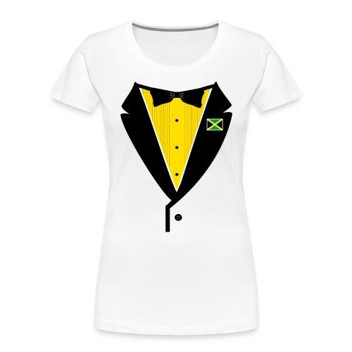 Jamaican Tuxedo - Women's Premium Organic T-Shirt