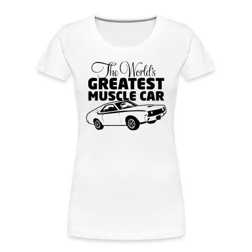 Greatest Muscle Car - Javelin - Women's Premium Organic T-Shirt