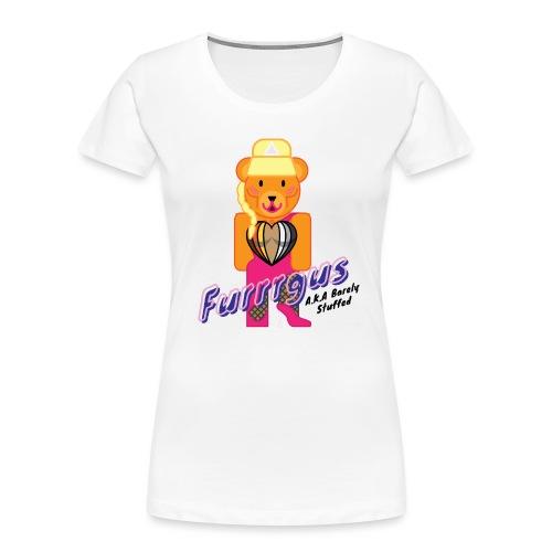 Barely Stuffed - Women's Premium Organic T-Shirt