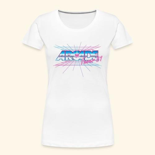 Arcade Fever 81 - Women's Premium Organic T-Shirt