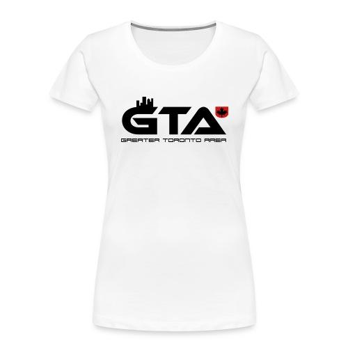 Greater Toronto Area - Women's Premium Organic T-Shirt