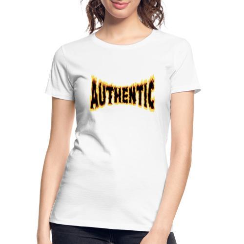 authentic on fire - Women's Premium Organic T-Shirt
