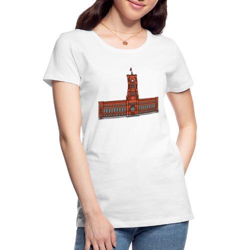 Red City Hall Berlin - Women's Premium Organic T-Shirt