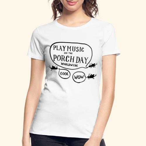 Crickets - Women's Premium Organic T-Shirt