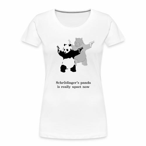 Schrödinger's panda is really upset now - Women's Premium Organic T-Shirt