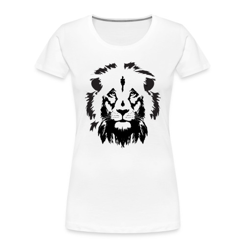 Lion head - Women's Premium Organic T-Shirt