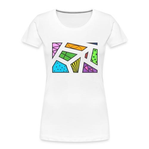 geometric artwork 1 - Women's Premium Organic T-Shirt