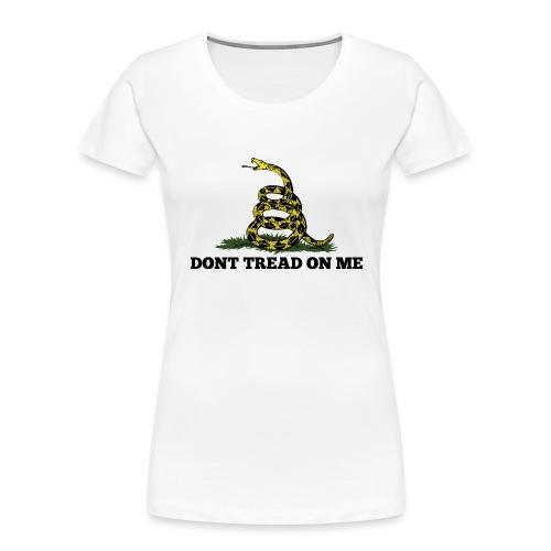 GADSDEN DONT TREAD ON ME - Women's Premium Organic T-Shirt
