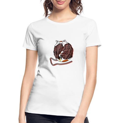 Wool Ball Robber - Women's Premium Organic T-Shirt