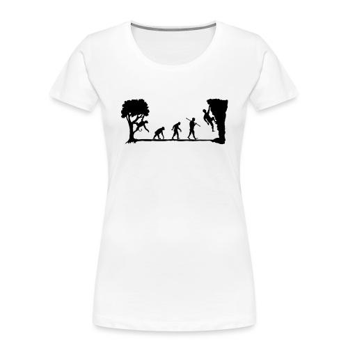 Apes Climb - Women's Premium Organic T-Shirt