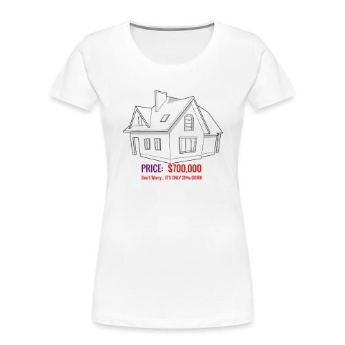 Fannie & Freddie Joke - Women's Premium Organic T-Shirt