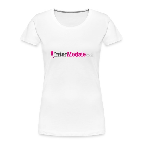 Intermodelo Color Logo - Women's Premium Organic T-Shirt