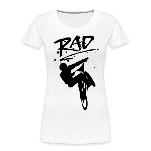 RAD BMX Bike Graffiti 80s Movie Radical Shirts - Women's Premium Organic T-Shirt