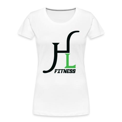 HIIT Life Fitness Logo - Women's Premium Organic T-Shirt
