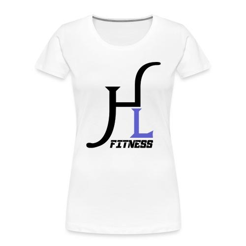 HIIT Life Fitness Logo Purple - Women's Premium Organic T-Shirt