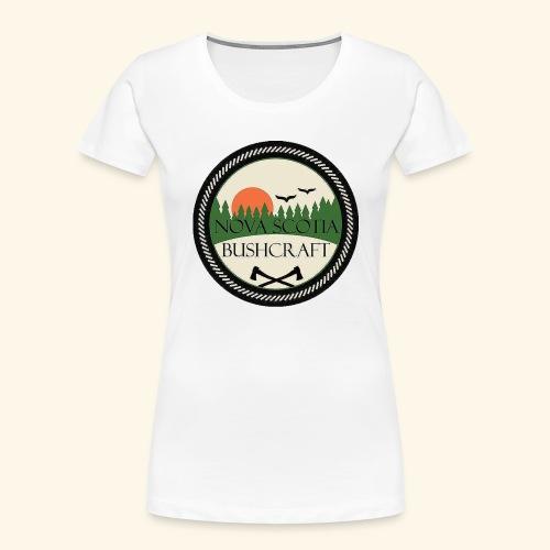 Nova Scotia Bushcraft - Women's Premium Organic T-Shirt