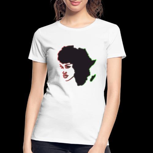 Afrika is Woman - Women's Premium Organic T-Shirt