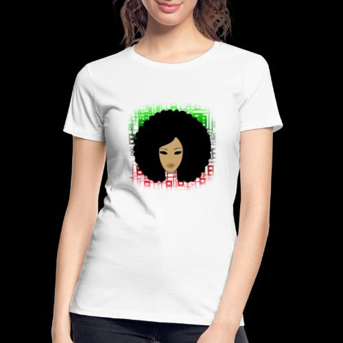 Afromatrix - Women's Premium Organic T-Shirt