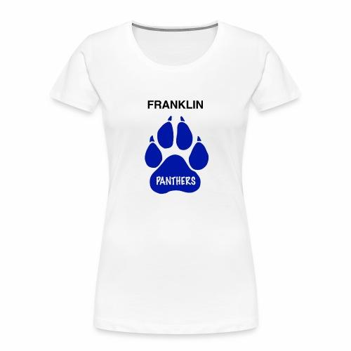 Franklin Panthers - Women's Premium Organic T-Shirt