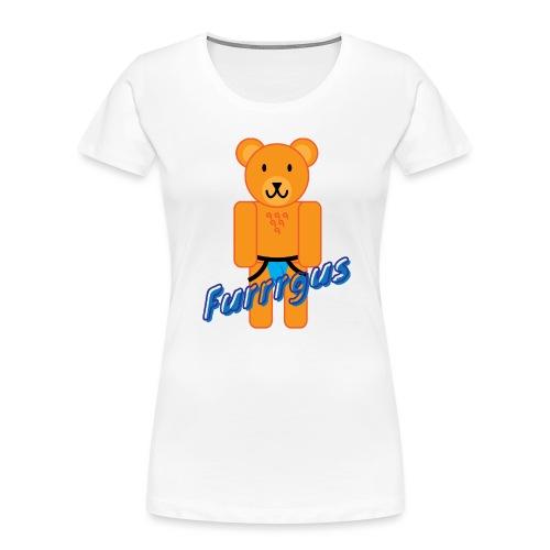 Furrrgus @ Underbear - Women's Premium Organic T-Shirt