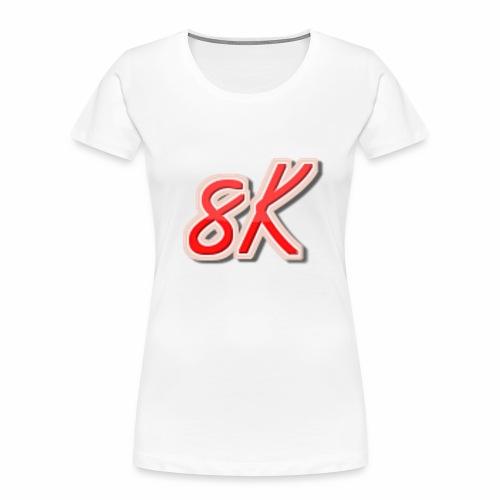 8K - Women's Premium Organic T-Shirt