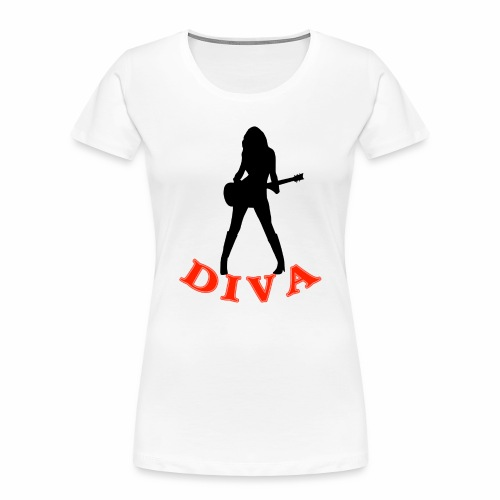 Rock Star Diva - Women's Premium Organic T-Shirt