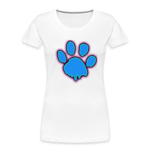 driping paw - Women's Premium Organic T-Shirt